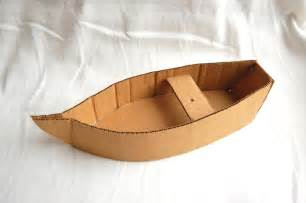 cardboard model boat template creative chronicles of narnia inspired diy cardboard boats