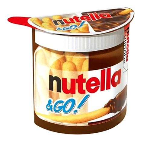 Nutella Go 1 Box nutella go packs only 0 74 at walgreens