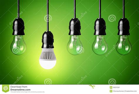 Led Light Bulb Technology New Technology Stock Image Image 36031561