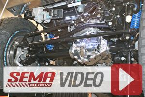 sema 2014: all aluminum axle from dynatrac offers remote