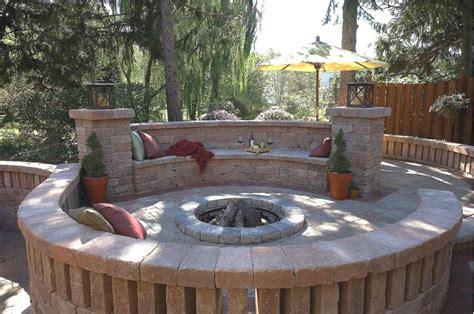patio fire pit ideas darcylea design