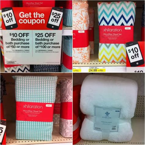 target bedding coupons 10 off 50 or 25 off 100 target bed bath coupons great in store deals