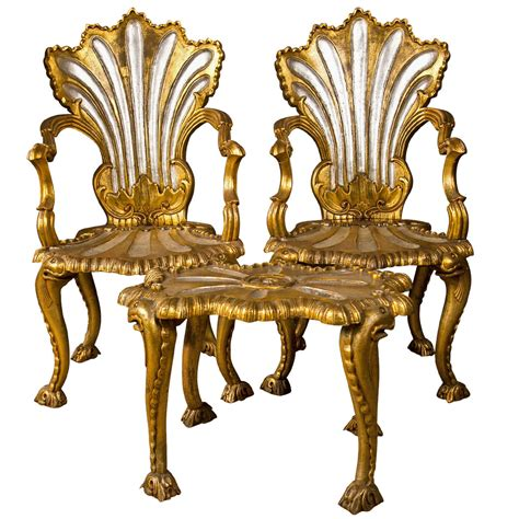 rococo armchair spectacular french rococo style armchairs and stool by jansen at 1stdibs