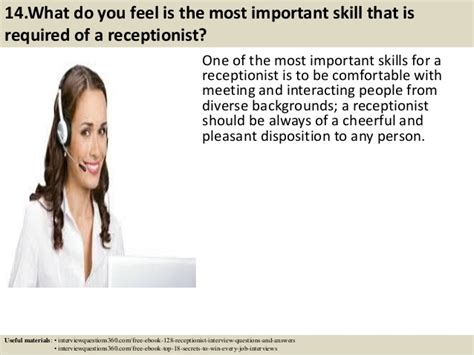 Receptionist Questions by Top 52 Receptionist Questions And Answers Pdf