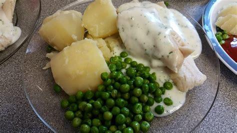 white fish  parsley sauce feed  family    week