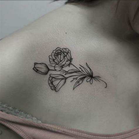rose collar bone tattoo collar bone best ideas gallery