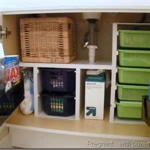 Under The Bathroom Sink Storage Ideas Under Sink Storage Ideas Bathroom Ideas Pinterest