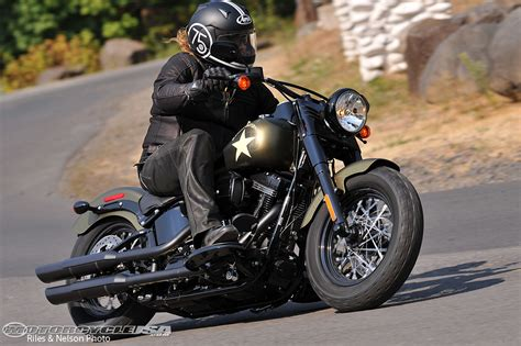 2016 Softail Slim S Review   Motorcycle USA
