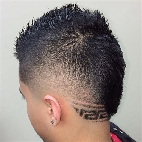 haircuts with designs in the back the 40 hottest faux hawk haircuts for men