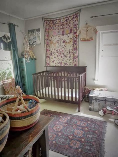 Beautifully Boho Nurseries Kids Rooms With A Bohemian Bohemian Nursery Decor