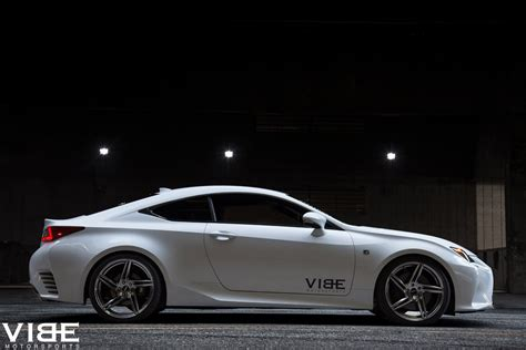 custom lexus rc vibe motorsports has a pair of rims for the lexus rc350 f