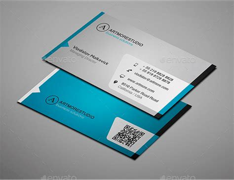 simple card templates 30 best business card templates psd design freebie