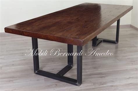 tavolo legno metallo tavoli in legno e metallo tavoli