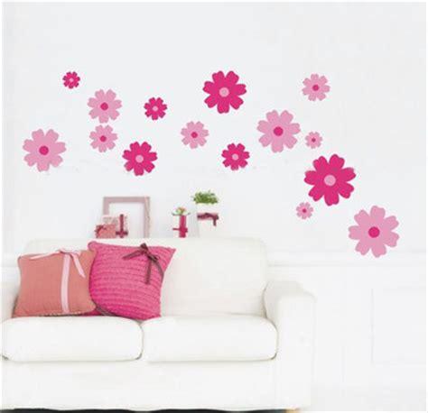 Wallpaper Sticker Dinding 240 jual bunga pink sebar wall sticker stiker dinding