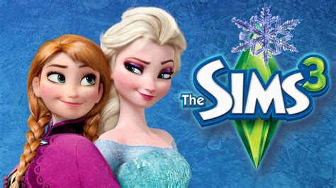 film disney frozen 2 in romana let s play the sims 3 frozen part 2 explanations