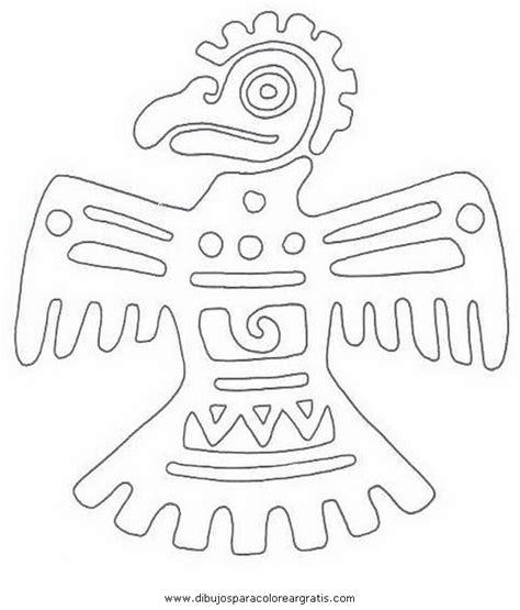 imagenes de aztecas para colorear dibujos aztecas coloring pages