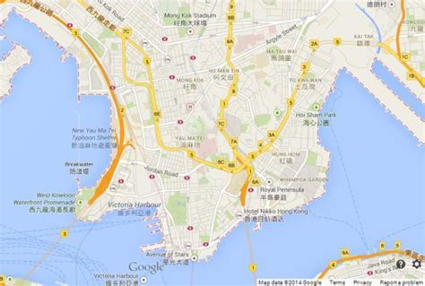 map of kowloon kowloon in hong kong world easy guides