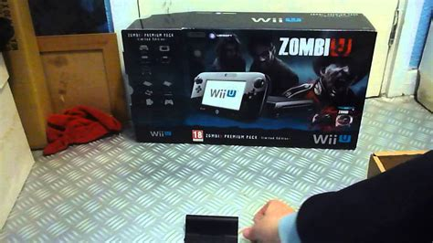 vendo wii u premium zombiu nintendo wii u console 32gb black premium zombiu bundle