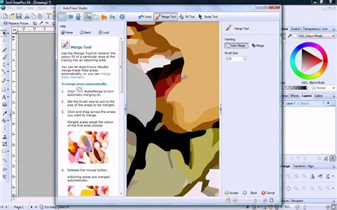 tutorial vector magic serif drawplus x4 tutorial autotracing images youtube