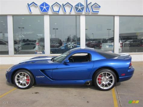 2008 viper blue metallic dodge viper srt 10 coupe 47005440 gtcarlot car color galleries