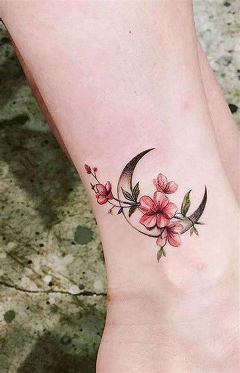 moon flower tattoo 30 delicate flower ideas stuff
