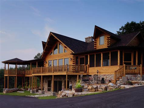 mitchell log homes custom log homes and decor
