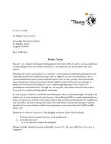 Letter Of Intent For School Letter Of Intent To Greendale Secondary School Project Change S Portfolio