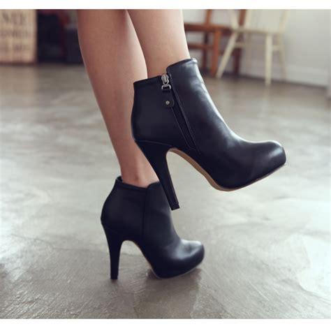 High Heels Korea 336a Tinggi 11 5cm emila high heels ankle boots