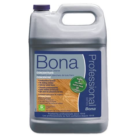 Bona Pro Hardwood Floor Cleaner by Bona 174 Pro Series Hardwood Floor Cleaner Concentrate 1 Gal