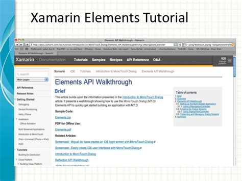 xamarin tutorial to set up learning c ipad programming