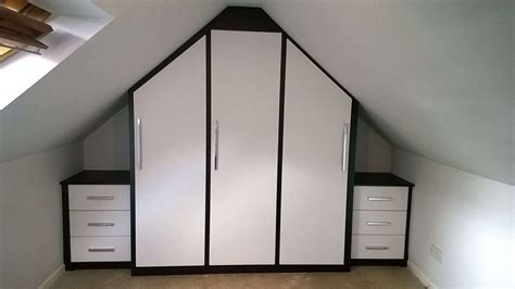Bedroom Wardrobes Freestanding Fitted Furniture For Loft Conversions And Angled Ceilings