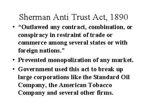 sherman antitrust act section 1 foundation for democratic advancement autocratic