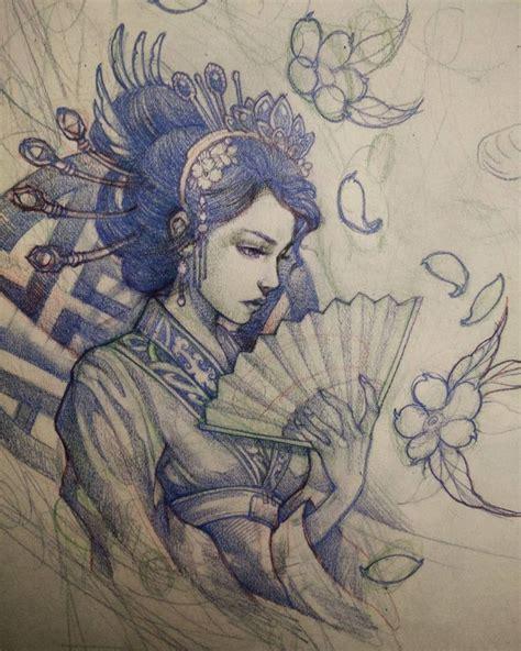 drawings for tattoos best 25 geisha drawing ideas on geisha