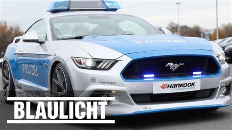 Bewerbung Bei Der Polizei Praktikum Mustang Bei Der Polizei Soll Illegales Tuning Verhindern