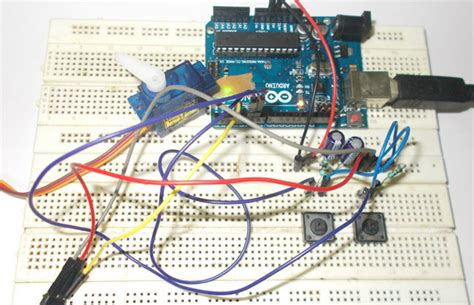 how to motor using arduino servo motor interfacing with arduino uno tutorial with