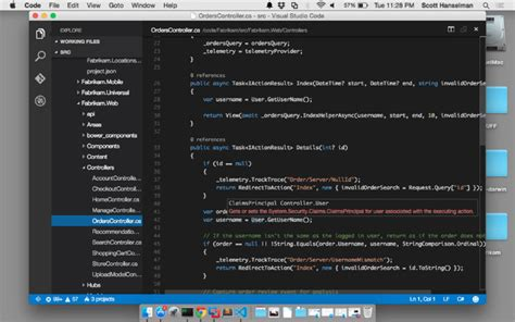 tutorial visual studio code mac linux and mac visual studio visual studio code