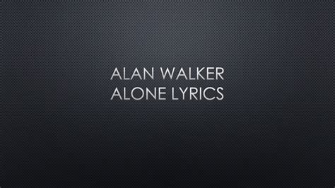alan walker where are you now lyrics alan walker lyrics youtube