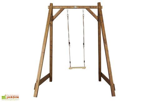 balancoire portique portique balan 231 oire en bois mon am 233 nagement jardin