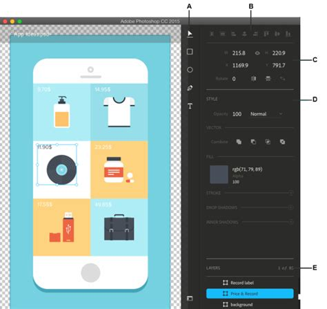 design app with photoshop feature summary photoshop cc 2015 x releases