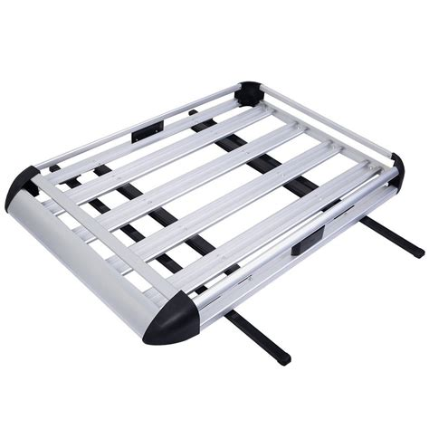 Cargo Luggage Rack by 50 Quot X38 Quot Aluminum Car Roof Cargo Carrier Luggage Basket