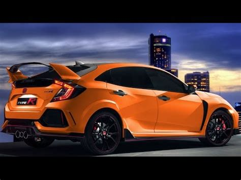 2018 2019 civic type r exhaust note youtube