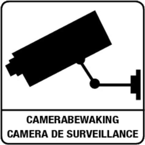 Sticker Camerabewaking Bestellen by Stickers Camerabewaking Deurstickers Raamstickers
