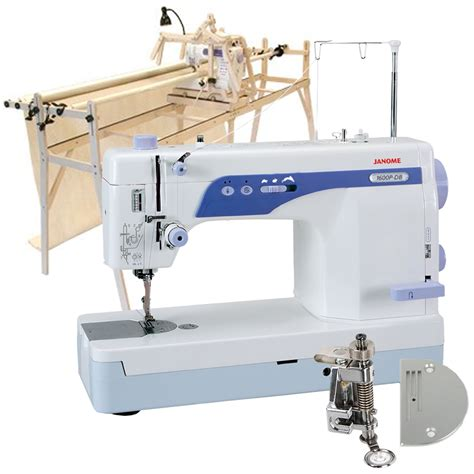 Grace Machine Quilting Frame by Grace Sturdy Lite Quilting Frame Janome 1600p Db High