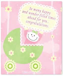 baby congratulation messages with adorable images