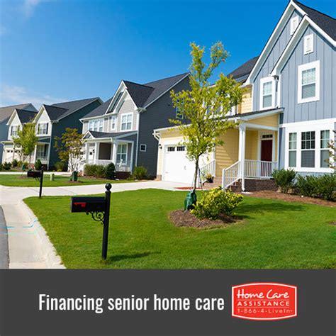 4 ways to finance elderly home care