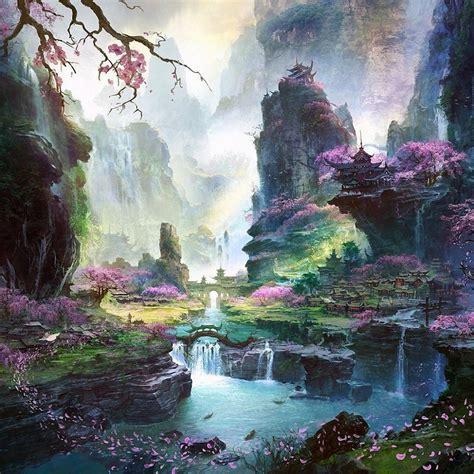 Landscape Concept Definition Cherry Blossom Wallpaper Japanese Landscape
