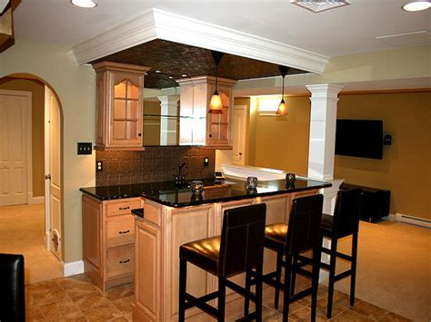 basement kitchen ideas small basement bar design ideas l