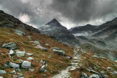 mountain trailhead mountain trail by burtn on deviantart