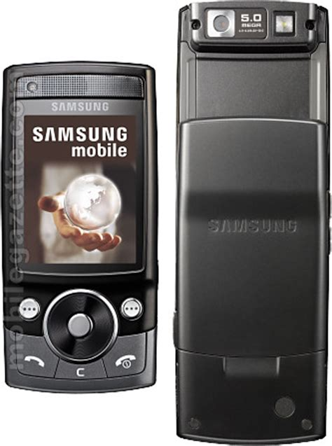 G Samsung Mobile Samsung G600 Sgh G600 Mobile Gazette Mobile Phone News