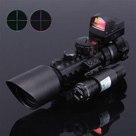 Tactical Green Dot Sniper Rd30 3 10x40 riflescopes tactical optics green dot laser sight scope sniper pistol